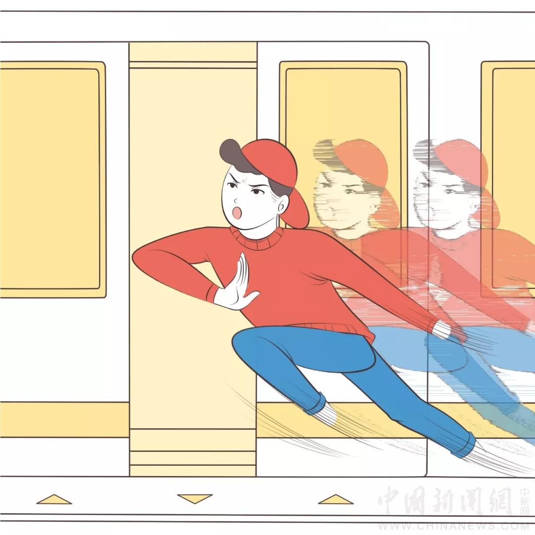 每个挤地铁的人,都是藏在民间的武林能手