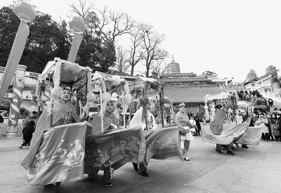 春节游国都 文化味更浓
