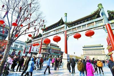清新过节成效显著 春节假期北京PM2.5同比降一半