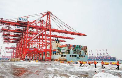 我国外贸进出口在保持增长的同时结构持续优化 实现了良好开局
