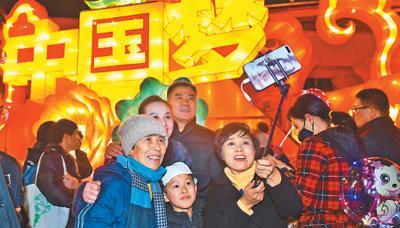 千年古鎮楊柳青連辦26屆元宵燈會