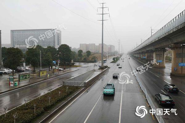 江南大部周日雨水暂歇北方气温继续攀升