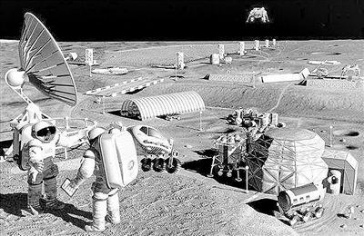 俄罗斯:执行载人登月任务,着手建造月球基地