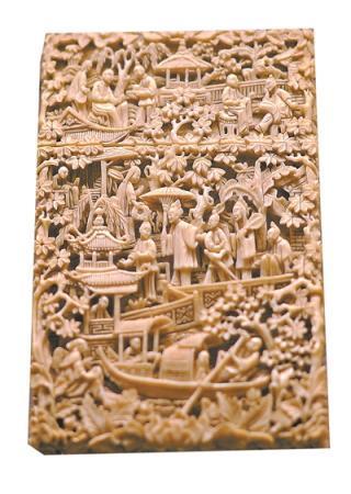名片盒:方寸之上满载中国趣味岭南工艺
