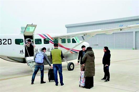 湖北荆门至武汉航线开通1年:仅执飞23天 运送82人