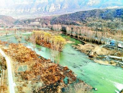 永定河首次开启跨流域补水