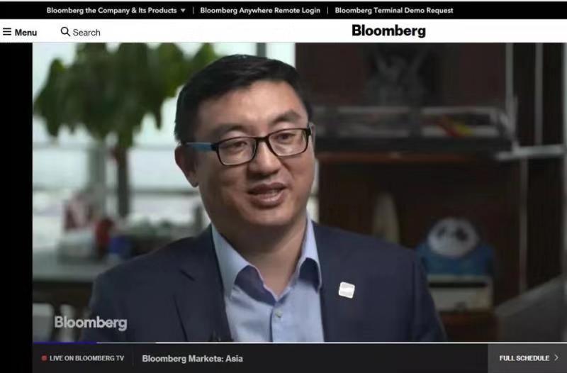 深兰科技CEO陈海波对话彭博:全球人工智能热 中国优势到底是什么?