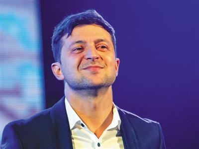 乌克兰总统选举喜剧演员领跑民调