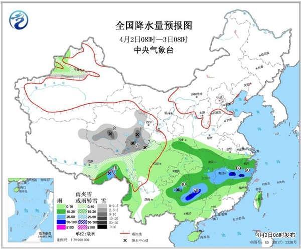 【头一】今日南方强降雨再上线 北方升温劲头足