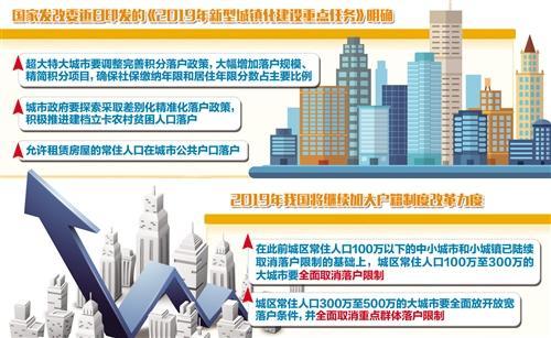 国家发展改革委印发文件 这些大城市全面取消落户限制