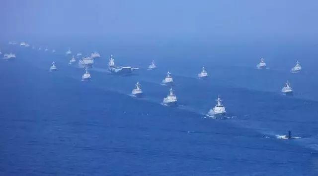 [水师习近平战区]习近平领航人民海军逐梦深蓝