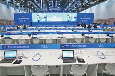 """""""一带一路""""峰会新闻中心启用 配备4K多通道收录系统"""