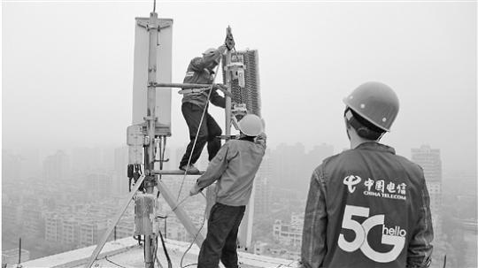 中国电信实现杭州核心区域5G信号连续覆配资平台盖