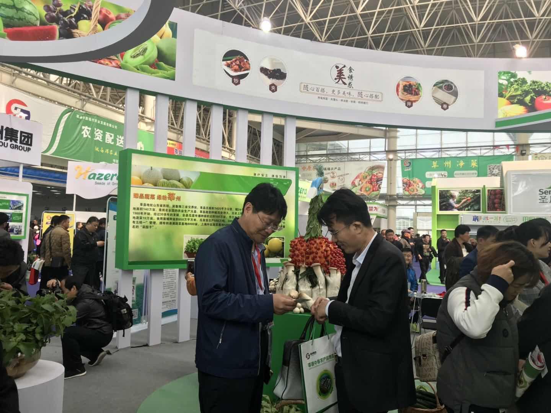 """第二届山东聊城(莘县)""""瓜菜菌博览会""""盛大开幕"""