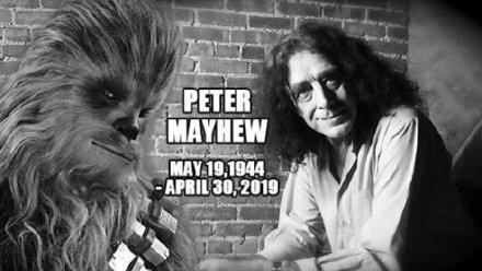 《星球大战》楚巴卡扮演者彼德・梅犹去世 享年74岁