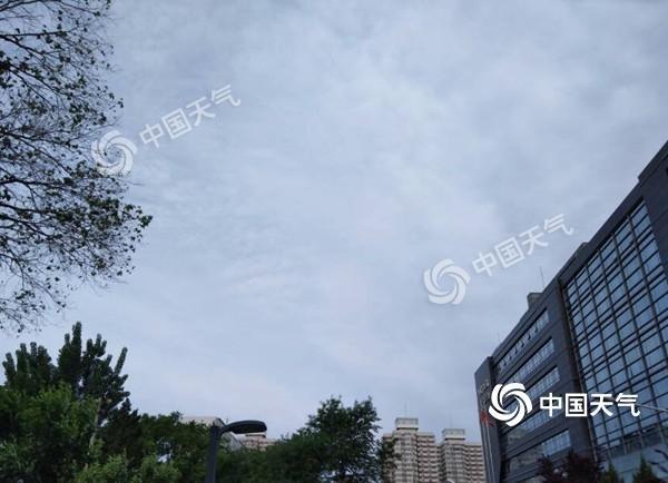 今天北京8级阵风 下周30℃