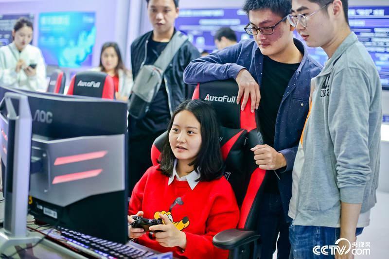 数字中国建设收获展览会上展现的自立创新研发游玩平台