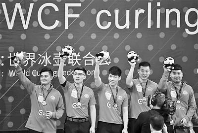 冰壶世界杯总决赛亚军 冰壶小伙获首枚世界大赛奖牌,刘冬新浪微博