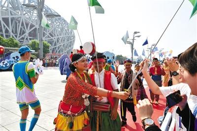 亚洲文明巡游和亚洲美食节开幕 主会场设在奥林匹克公园