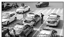 消防员与出租车司机沟通