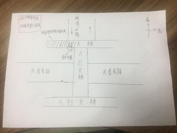 杭州一人行天桥垮塌:遭货车所载超高金属构件撞击
