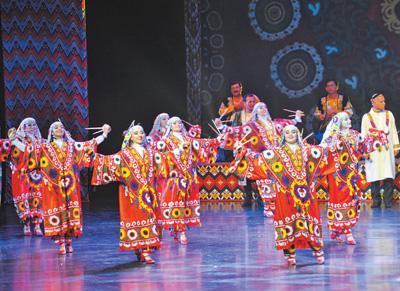 """塔吉克斯坦文化日在北京举行:""""我们的心是相近相通的"""""""