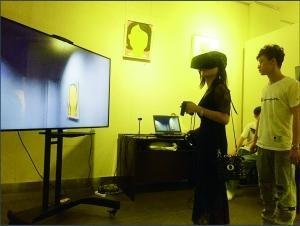 VR+艺术 这是一场特别的画展