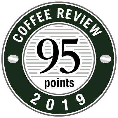 "GREYBOX咖啡豆获美国""COFFEE REVIEW""95分"
