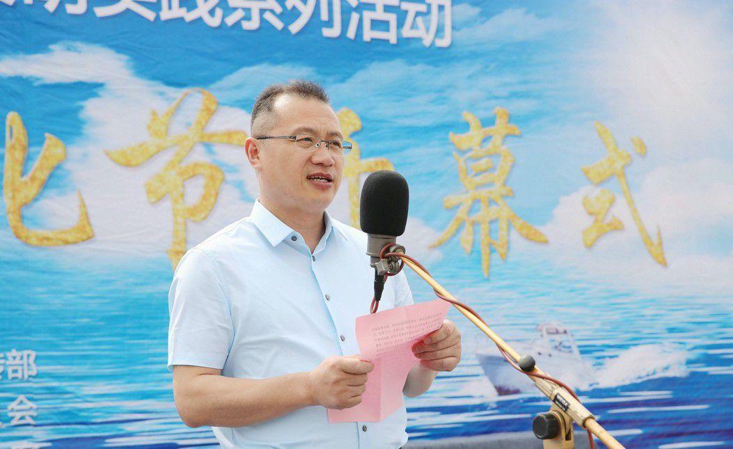 配资公司连云港市石桥镇首届伏休文化节举行