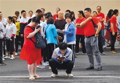 高考開鑼 北京5.9萬名考生上考場