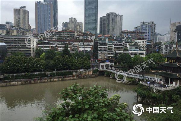 贵州昨日最大降雨量218.9毫米 织金河过警戒水位0.73米
