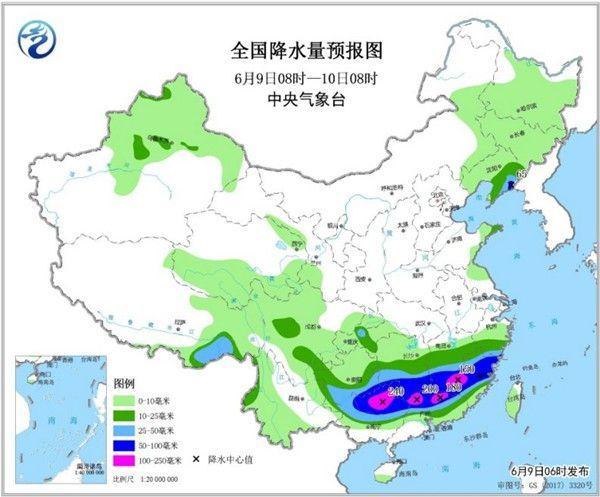"""阳强降雨持续""""打卡"""" 西北华北将重返炎热"""