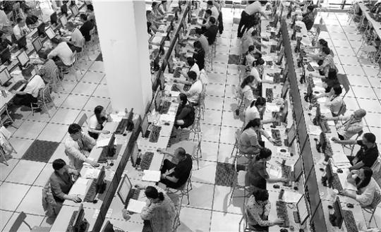探访浙江高考阅卷点,91万余份试卷两千