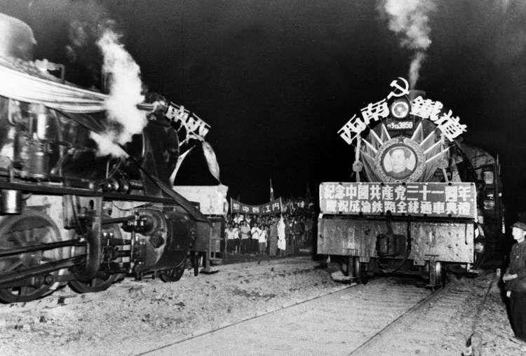 60多年前,就是因為這條鐵路,蜀道不再難了!