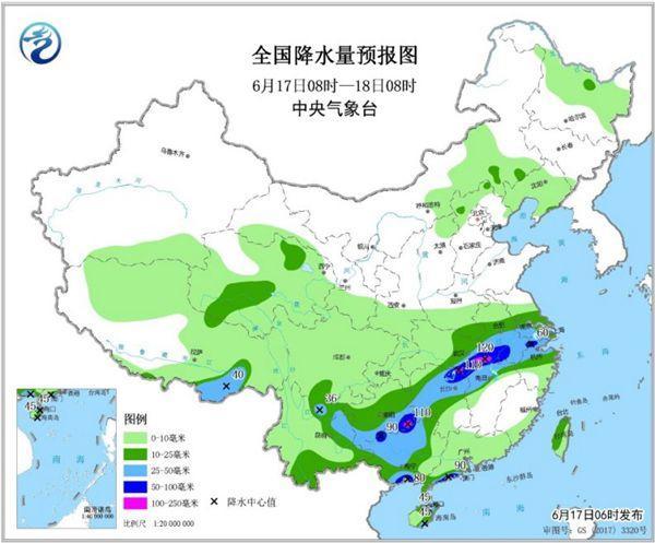"""南方強降雨""""車輪戰""""啟幕 華北黃淮""""燒烤""""繼續"""