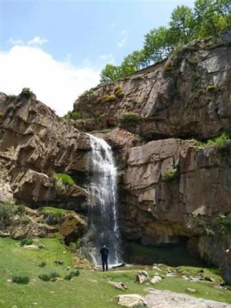 西寧市發現一處大瀑布景觀