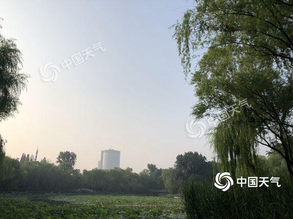 """今日雷阵雨""""光临""""北京 本周气温偏高体感闷热"""