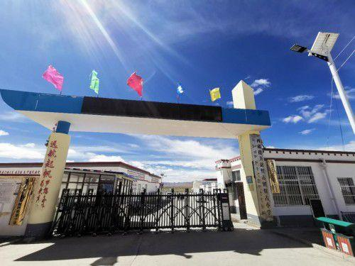 大爱无疆 情暖童心 安婕妤20所阳光小学之在线配资第19所落户西藏