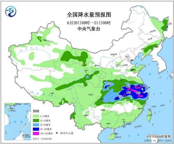 明起南方新一轮强降雨展开 暴雨横扫9省市