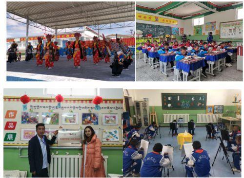 大爱无疆 情暖童心 安婕妤20所阳光小学之第19所落户西藏