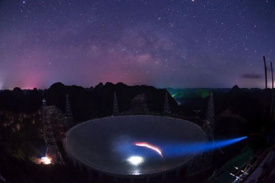 """银河系还会有多少星星被点亮?FAST将寻找""""新太阳的摇篮"""""""