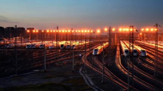 那里的铁路70年变革,年夜到超乎您象