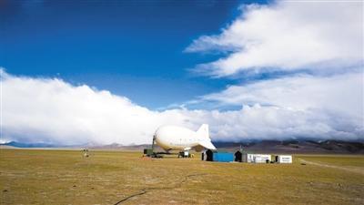 """""""极目一号""""浮空器成功挑战海拔7003米的高度 将大气成分""""尽收眼底"""""""