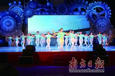 广东工人艺术团走进梅州丰顺与湛
