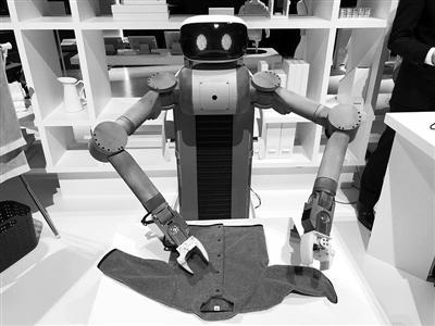 日本推出家务机器人
