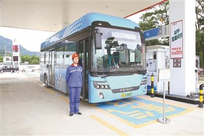 国内首次开发加氢站 日加氢能力达到500kg