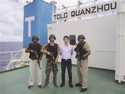 江苏远洋明星船长褚震哲 22年安全航行30余万海里