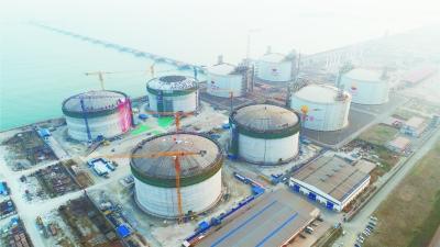 唐山增建4座LN配资公司G储罐保障北京供气
