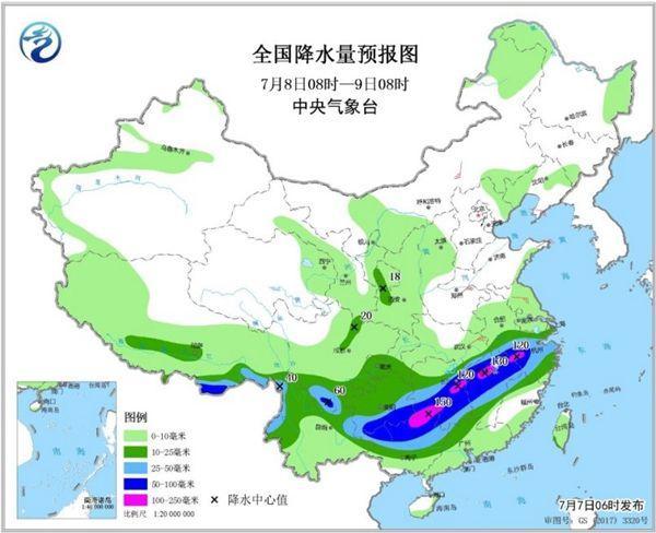北方兄位轮强降雨开启 湖北江西广西局天有年夜暴雨