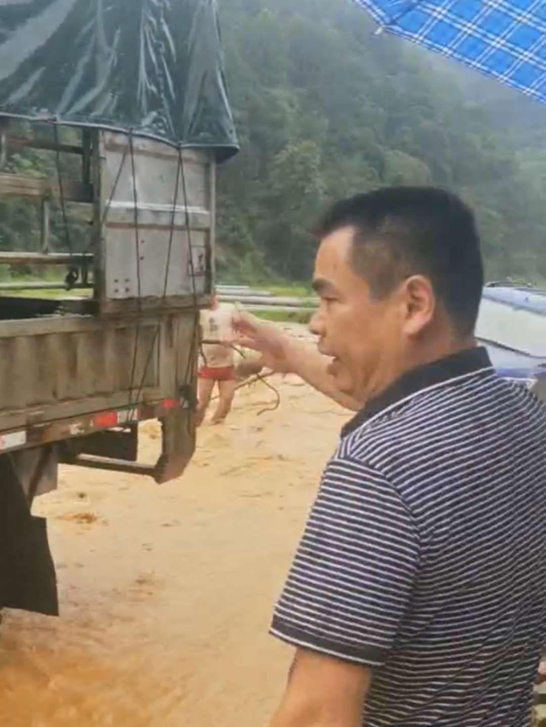 贵州一副镇长视察灾情有专人打伞?当事人回应:路人自发